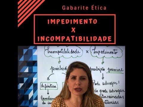 Ética:-aula-impedimento-x-incompatibilidade