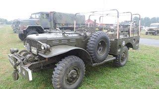 WWII Dodge WC52 weapons carrier, detail walk around video