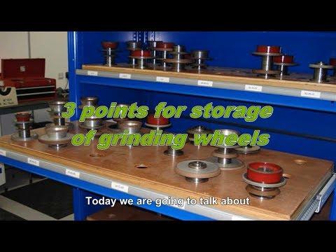 3 Best Ways of Abrasive Storage of Grinding Wheels    Metal Holder Rack   FortureTools