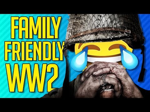 Download Youtube: FAMILY FRIENDLY WWII | Call of Duty: WW2
