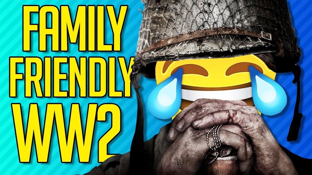 FAMILY FRIENDLY WWII | Call of Duty: WW2