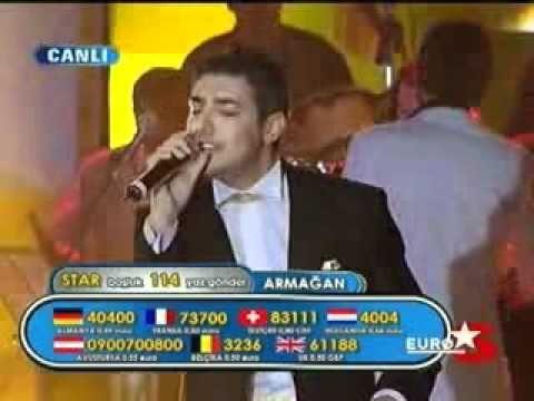 YouTube   Pop Star Alaturka   Armagan   Canim dediklerim   0701
