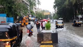 मुंबई में बारिश भारी बारिश से मुंबई में भारी      Mumbai  #mumbairain #mumbaiflood