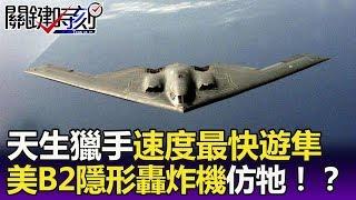 「天生獵手」世界速度最快遊隼 美國B2隱形轟炸機仿牠造型!?  -關鍵精華