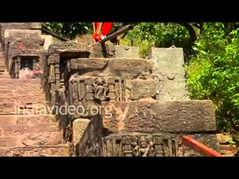Kalika Mata Temple in Pavagadh Hill, Champaner