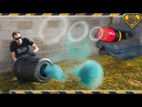 Next Level DIY Vortex Cannons!