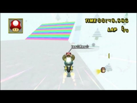 [MKWii TAS] Alpine Skyway RC2 - 1