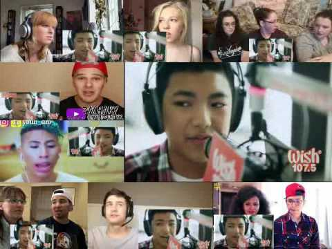 Darren Espanto - Chandelier (Sia) LIVE Cover on Wish FM 107.5 Bus REACTION MASHUP