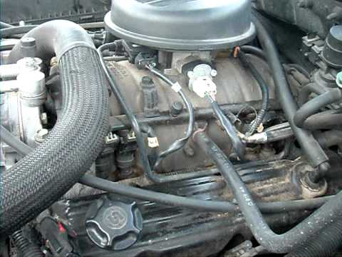 2000 Jeep Wrangler Parts Diagram P90 Wiring Telecaster 1999 Dodge Durango Idles High.... - Youtube