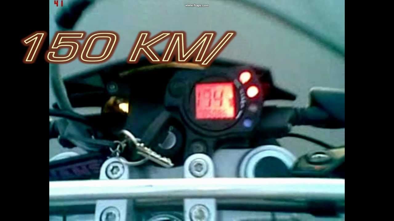 piaggio typhoon wheelie 150 km/h - youtube