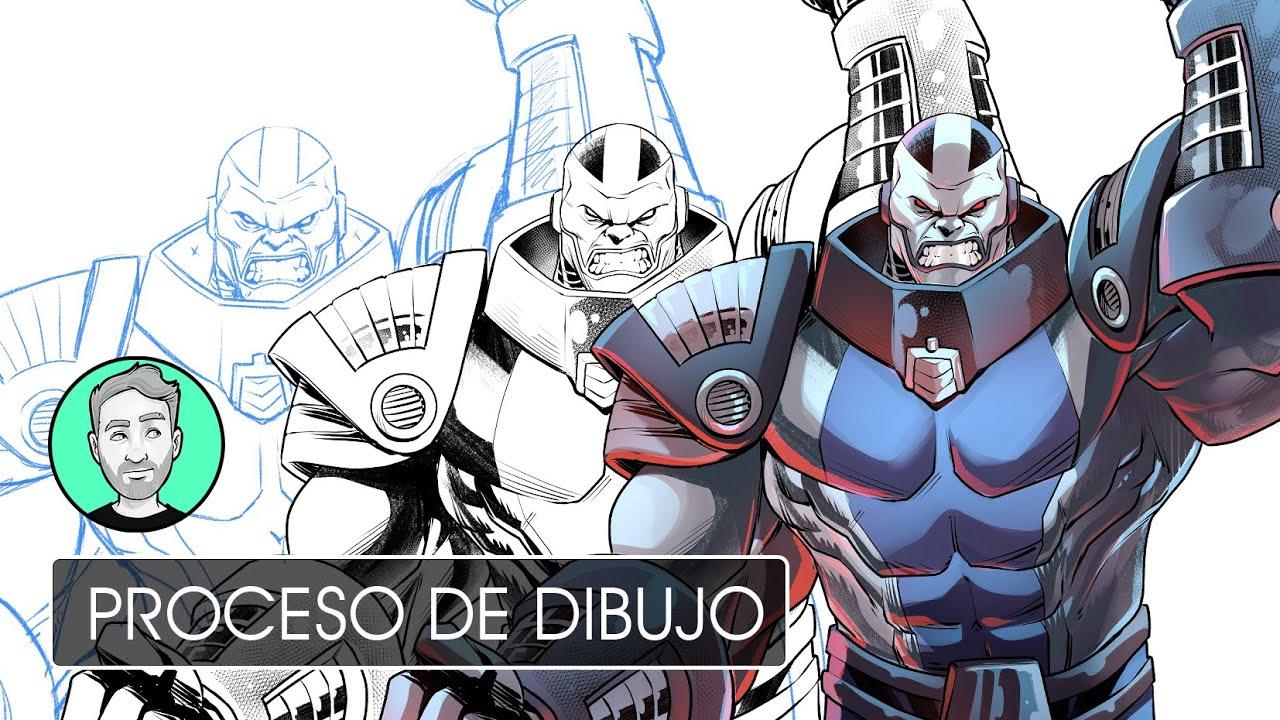 Apocalypse en lápiz, tinta y color | Personajes de Marvel