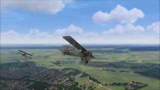 ROF - On patrol in the Breguet 14.B2