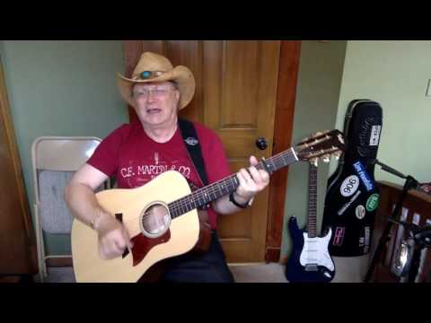 2028  - In Color -  Jamey Johnson vocal & acoustic guitar cover & chords