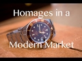 Homages in a Modern Market - Squale 1545 and Steinhart Ocean Controversy