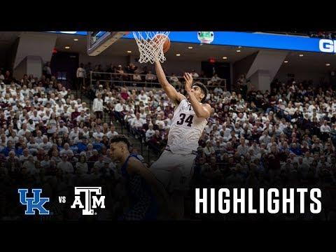 Men's Basketball: Highlights | A&M 85, Kentucky 74