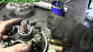 Chery QQ зняття і ремонт генератора