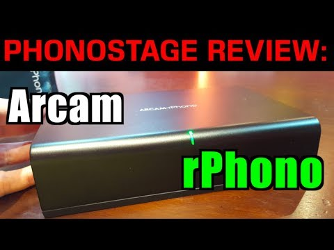 Arcam rPhono Review - MM mode, vs Mani!