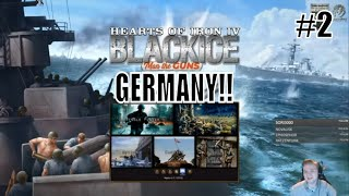 HoI4 - MOD: BlackICE Historical Immersion - Let's play Germany! - Part 2