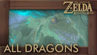 Zelda Breath of the Wild - All Dragon Locations Shrine Quests
