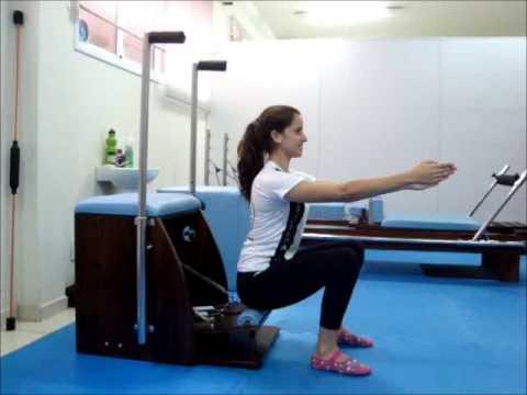 Pilates Step Chair Youtube
