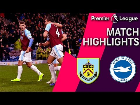 Burnley v. Brighton I PREMIER LEAGUE MATCH HIGHLIGHTS I 12/8/18 I NBC Sports