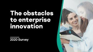 The obstacles to enterprise innovation – 2020 Survey