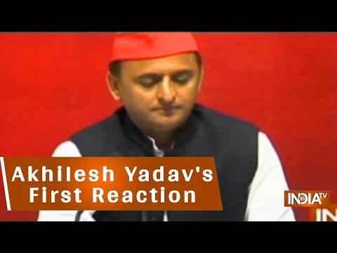 Akhilesh Yadav's First Reaction On Being Detained At Lucknow Airport