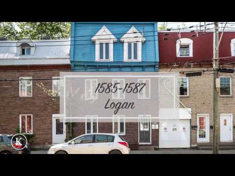 1585-1587 Logan, Montreal 850 000$ Centris #28896401