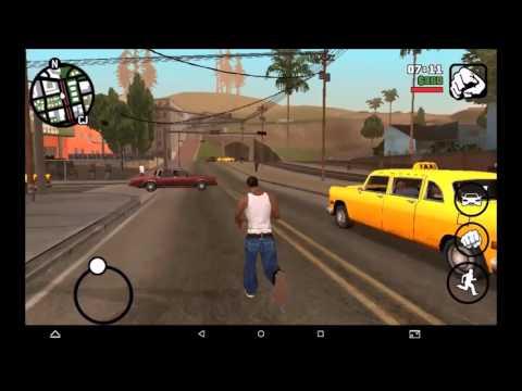 Bb Mobile TOPOL' TQ863Q GTA San Andreas GamePlay