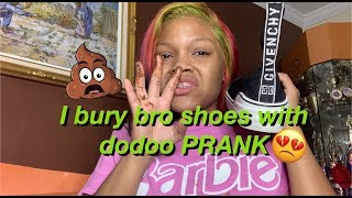 Buried Favorite Givenchy Shoes - Prank on Troy