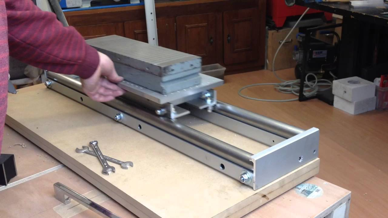 Surface grinder build - Little progress