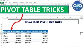 Excel Tricks : Pivot Table Custom Grouping Trick In Excel | Excel Tutorials | MS Excel | dptutorials
