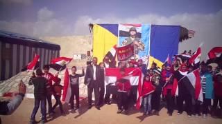 أطفال شرم الشيخ بمدرسة جيل اكتوبر يهتفون تحيا مصر فى قناة السويس الجديدة
