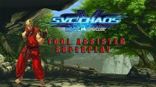 SVC Chaos: SNK vs. Capcom - Ken【TAS】
