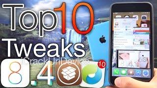 Top 10 iOS 8.4 Cydia Tweaks - Best Jailbreak 8.4 & TaiG Compatible 2015 Tweaks