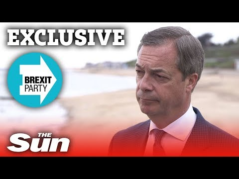 EXCLUSIVE: Nigel Farage on the Brexit Party