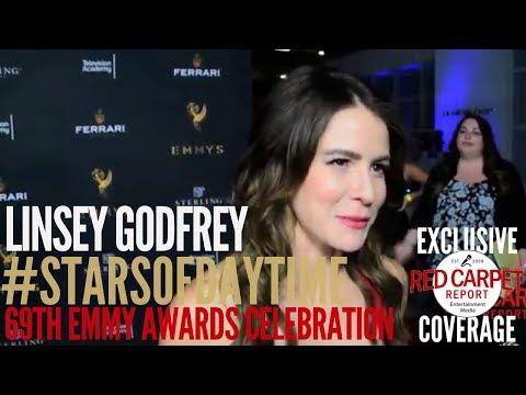 Linsey Godfrey BoldandBeautiful ed at 69th Emmys Stars of Daytime Celebration Emmys