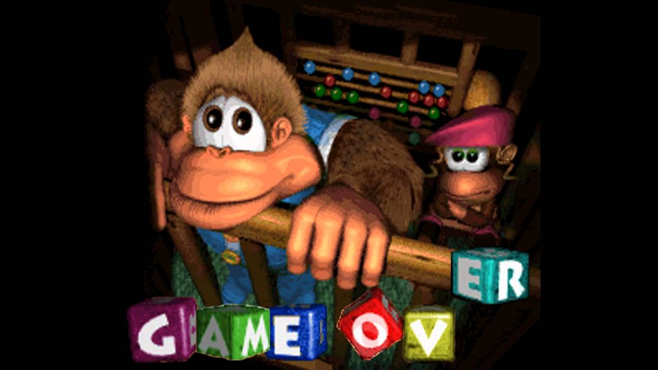 Game Over Musics - Donkey Kong Country 3 - Dixie Kong's ...