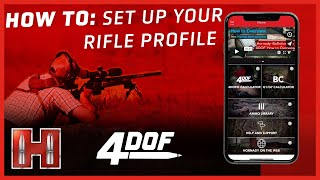 4DOF BALLISTIC CALCULATOR: How To Setup Your Rifle Profile (Favorite)   Complete Overview