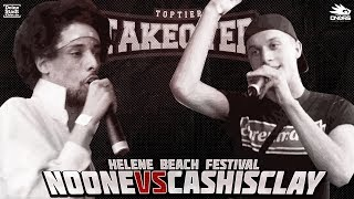 Noone vs. Cashisclay - Takeover Freestyle Contest | Helene Beach Festival (VR 1/4)