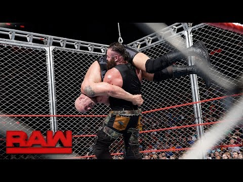 Thumbnail: Big Show vs. Braun Strowman - Steel Cage Match: Raw, Sept. 4, 2017