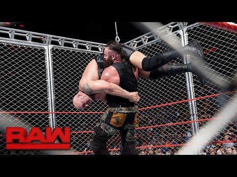 Big Show vs. Braun Strowman - Steel Cage Match: Raw, Sept. 4, 2017