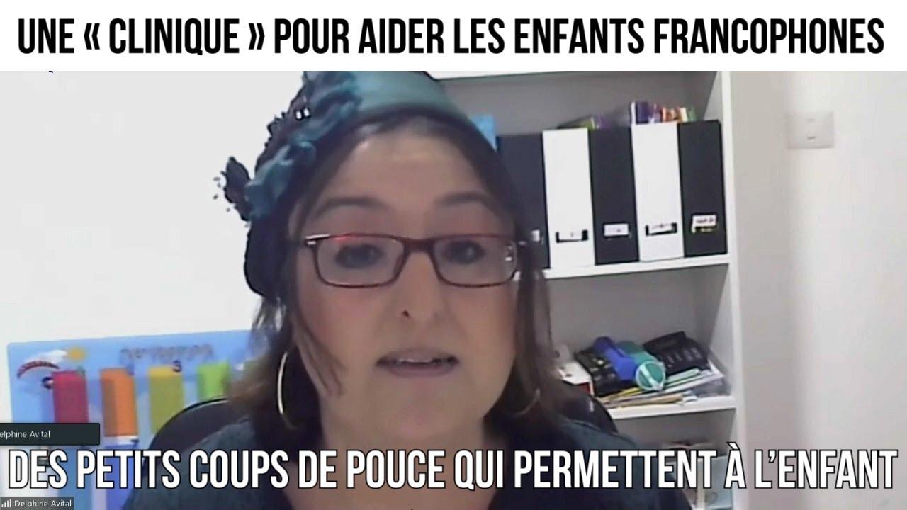 Une « clinique » pour aider les enfants francophones - CDP#307
