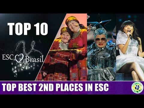 TOP 10 | Second Places in Grand Final. (2007/2016)