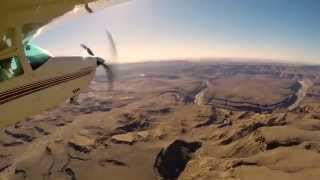 Flying in Namibia 2014