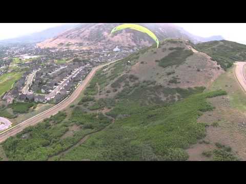 Paramotoring Flight over Draper, Utah