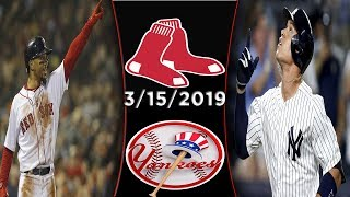 Boston Red Sox vs New York Yankees | Game Highlights