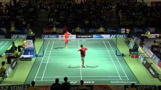 [Highlights] Badminton Australian Open Lee Chong Wei vs Tian Hou Wei