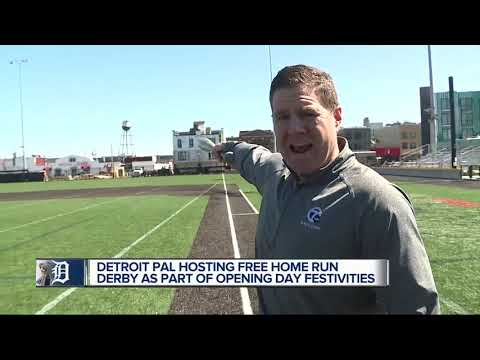 Detroit PAL Hosting Opening Day Home Run Derby
