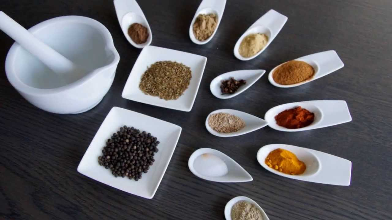 Home made Ras El Hanout - spice mix for North African recipes -  رأس الحانوت